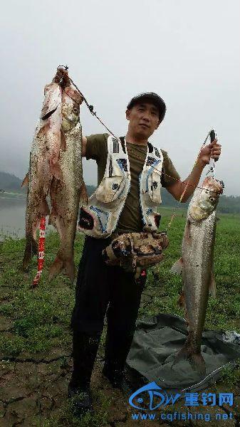 获鱼后的喜悦