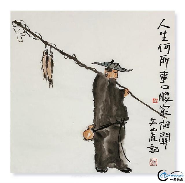 钓鱼人自己的文化,这几幅对联字字珠玑 值得收藏!-3.jpg