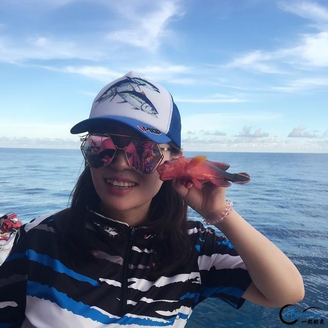最美的海钓宝贝,美女钓手演绎别样精彩的钓鱼时光-8.jpg