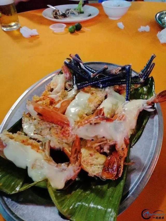 中国钓友组团去越南湄公河剿灭泛滥的罗氏虾,虾大的都成精了-21.jpg
