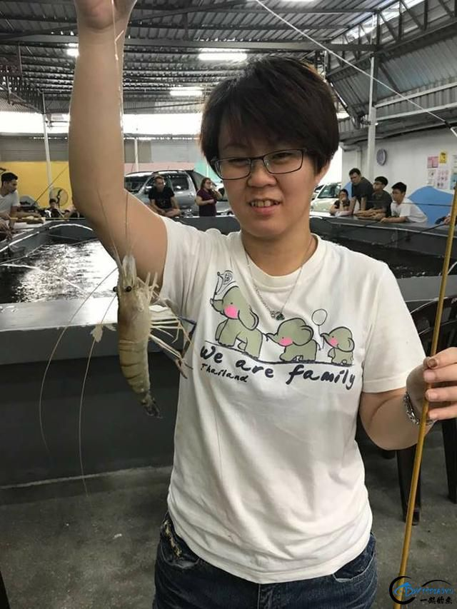 中国美女主播竟也组团去越南钓虾,这是要灭绝罗氏虾的节奏啊-13.jpg