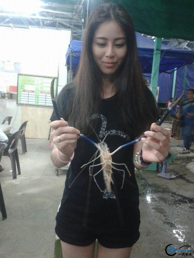 中国美女钓虾团远征越南罗氏虾,这钓获势必引发国内钓虾狂潮-7.jpg