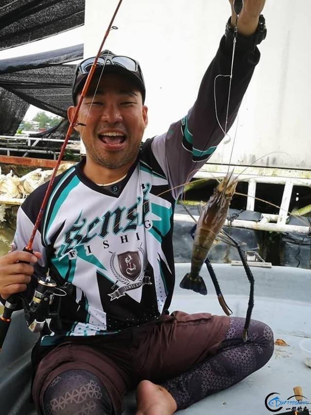 中国钓友湄公河狠狠的教训了一下湄公河泛滥的罗氏虾,真过瘾-3.jpg