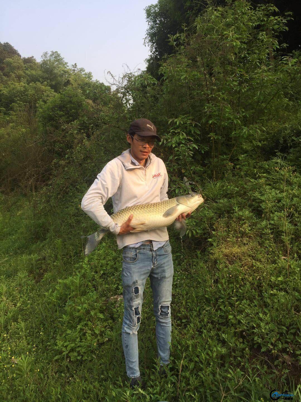就在今天我如愿了,完成了10斤以上的野生鱼