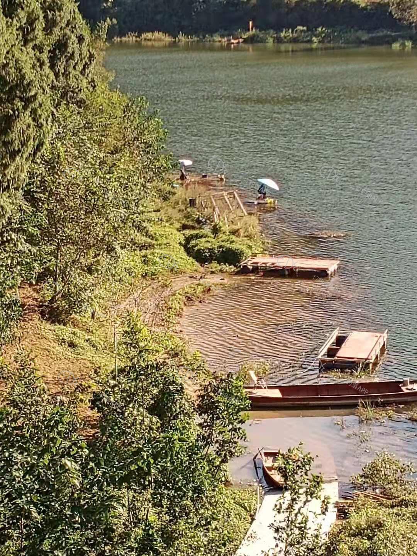 高水位此地只能浮台垂钓