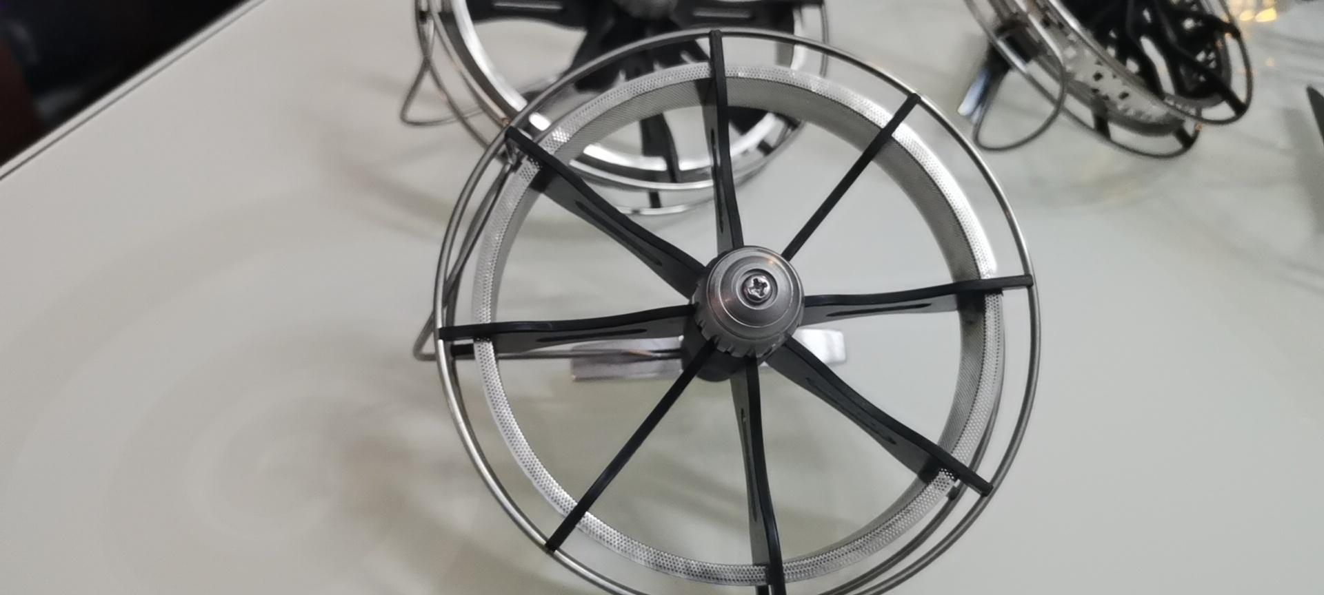 盘车轮的变化